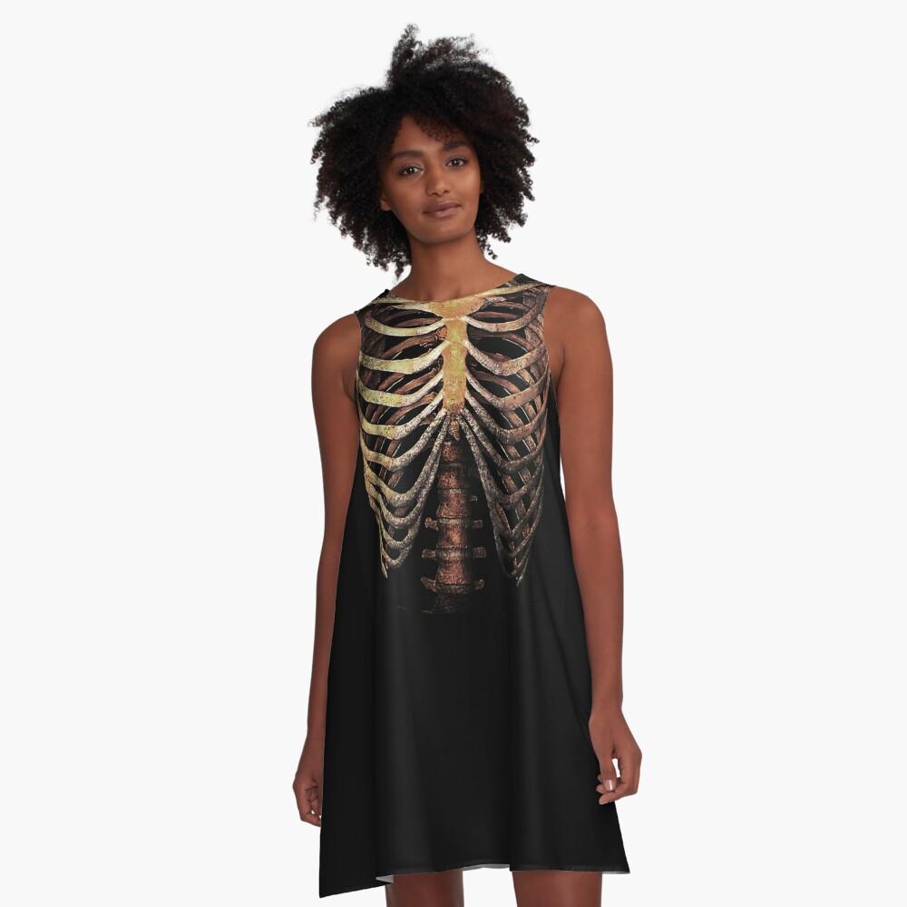 RIB CAGE TEE A-Line Dress