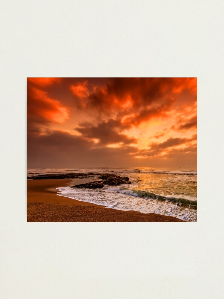 Alternate view of Stormy Skies Beach Photographic Print