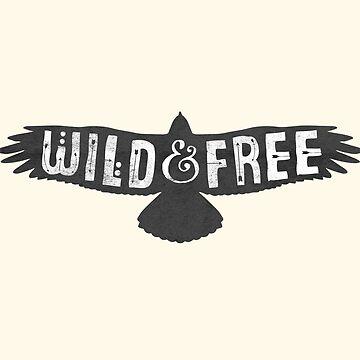Libre salvaje de wolfandbird