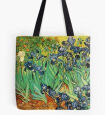 Irises, Vincent van Gogh Tote Bag