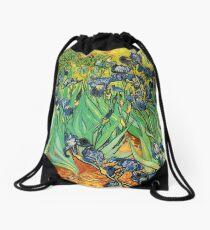 Irises, Vincent van Gogh Drawstring Bag
