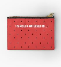 I carried a watermelon Studio Pouch