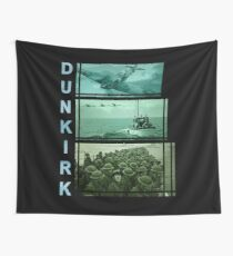 One hour, one day, one week (Dunkirk) Wall Tapestry