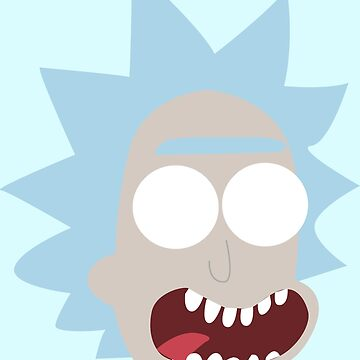 Simplistic Rick Sanchez  by WilliamBourke