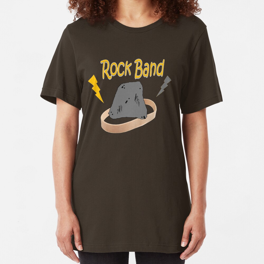 Rock Band Slim Fit T-Shirt