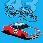 Richard Petty #43 Dodge Charger by GHRDesign