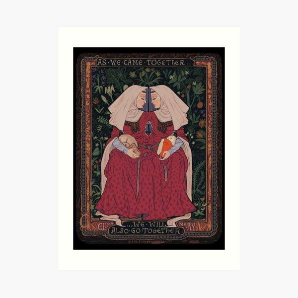 The Bedington Maids Art Print