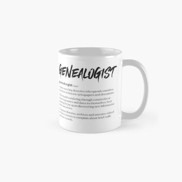 Genealogist Definition Classic Mug