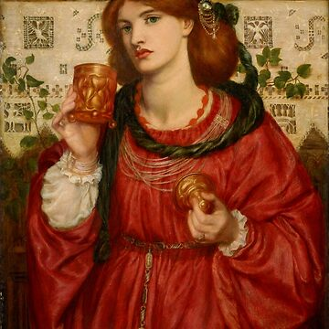 "Dante Gabriel Rossetti ""The Loving Cup"" by ALD1"