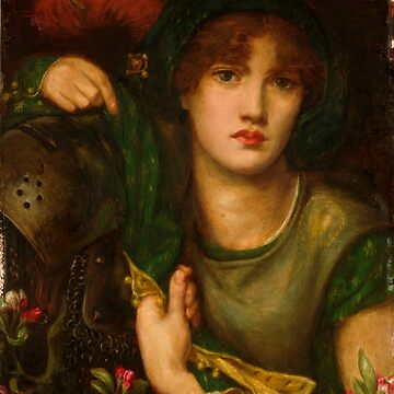 "Dante Gabriel Rossetti ""Lady Greensleeves"" by ALD1"