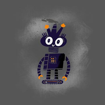 Little robot buddy by jumpy