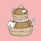 «Kitties Religieuse - Gatos De Pastelería Francés» de Christina G. Smith
