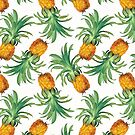 Pineapples pattern von CatyArte