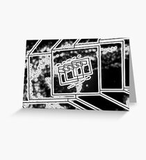 Cube Mirror - Water Greeting Card