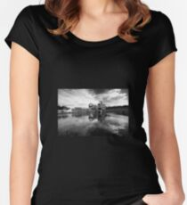 Falkirk Wheel  Fitted Scoop T-Shirt