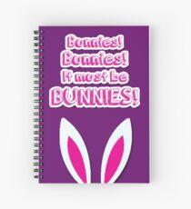 It must be bunnies! Spiral Notebook