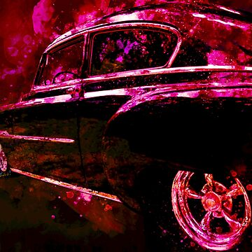 53 Classic Chevy Sedan Former Leader of the Band by ChasSinklier