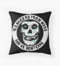 We don't care  Throw Pillow