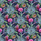 Exotic flower garden by CatyArte