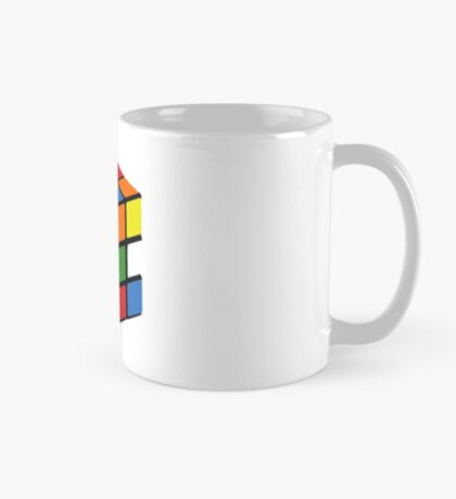 Cheap 1980s knock-off puzzle cube Mug