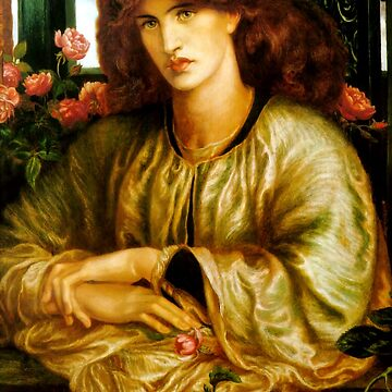 "Dante Gabriel Rossetti ""Woman at the window"" by ALD1"