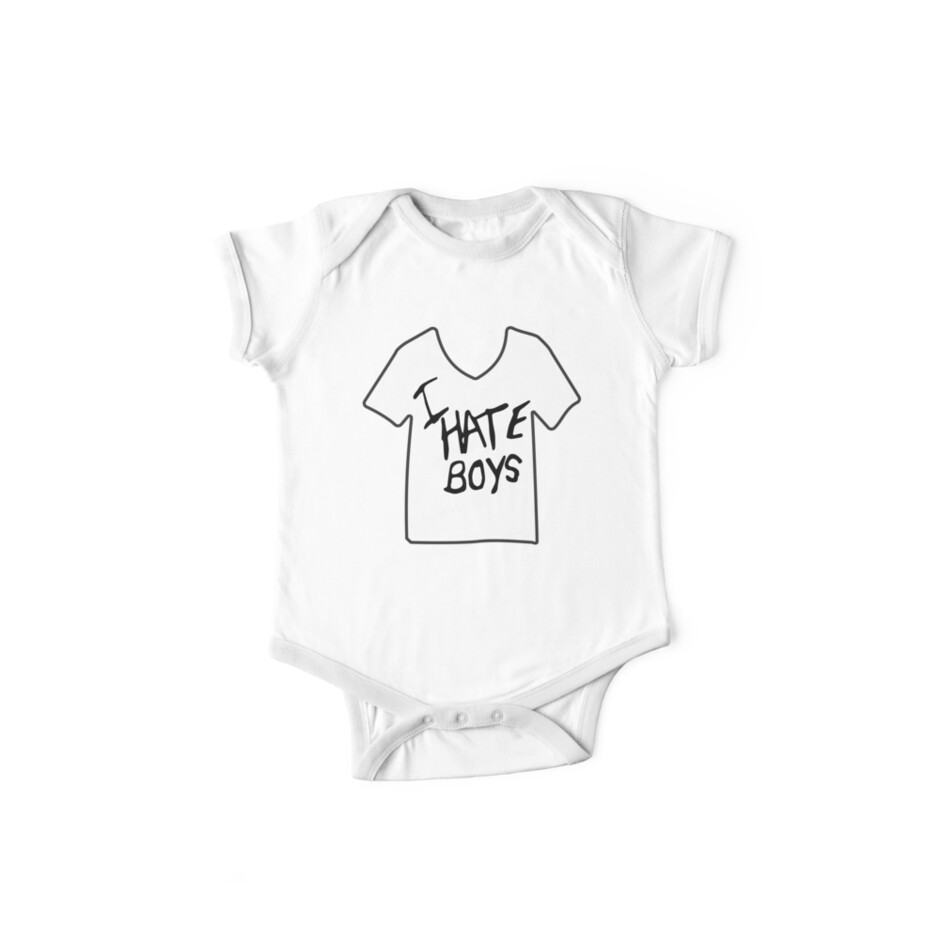 'I Hate Boys - It's Kind of a Funny Story' Kids Clothes by ktthegreat