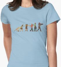 Rust evolution Fitted T-Shirt