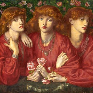 "Dante Gabriel Rossetti ""Rosa Triplex: A triple portrait of May Morris"" by ALD1"