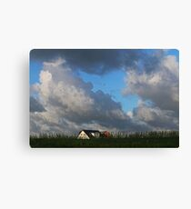 Sky in Thy, Denmark Canvas Print