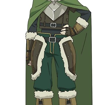 Iwatani Naofumi | The Rising of the Shield Hero (Sticker) by QShiro