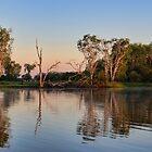 Sunrise on Yellow Water by Vickie Burt