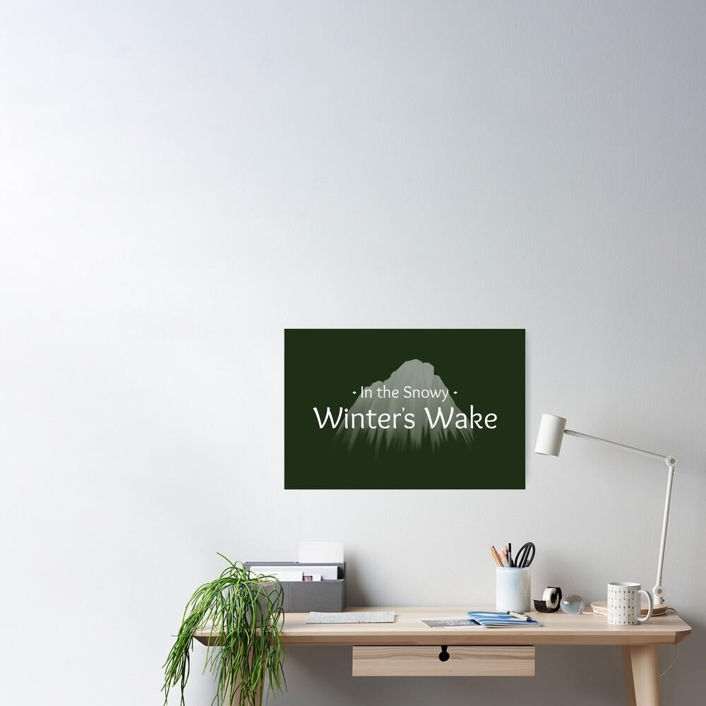 Winter's Wake Postcard 3 Poster