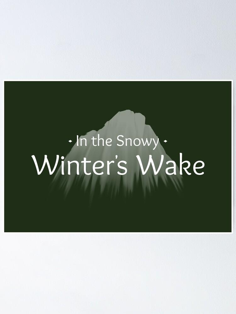 Alternate view of Winter's Wake Postcard 3 Poster
