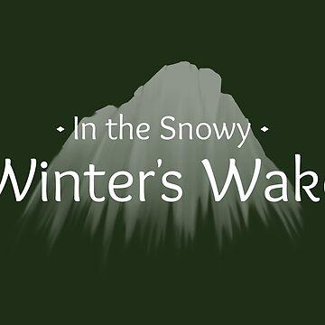Winter's Wake Postcard 3 by Cheeseness