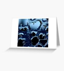 Heart of ice Greeting Card