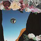 Der Narr (Collage der Tarot-Serie) von James Lyons