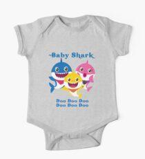 Baby Shark Doo Doo Doo Kindergeschenk Kurzärmeliger Einteiler