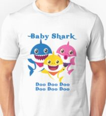 Baby Shark Doo Doo Doo Kindergeschenk Slim Fit T-Shirt