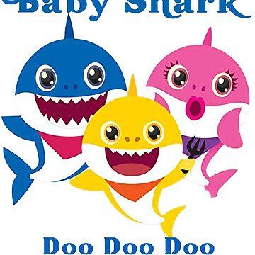 Baby Shark Doo Doo Doo Kids Gift by amethystdesign