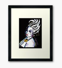 Ursula the Sea Witch Framed Print