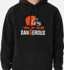Baker Mayfield I Woke Up Feeling Dan6erous Pullover Hoodie 497f7895d