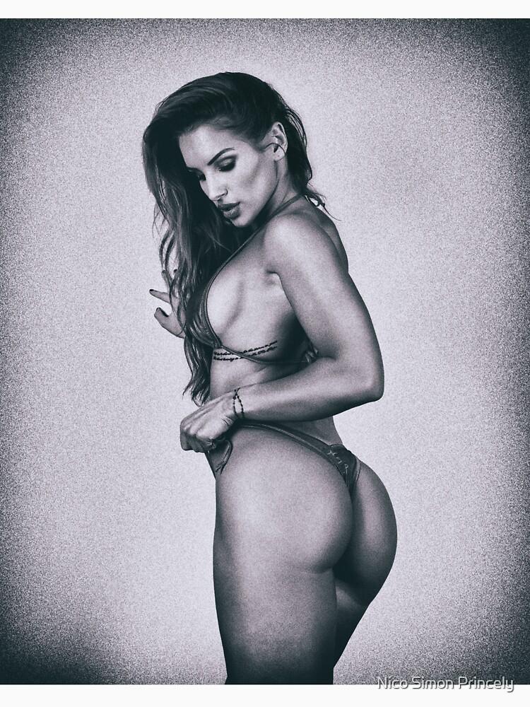 "Fine Erotic Art Photography - Female Art - ""Sexy Fitness Bikini Model With Perfect Body! - Modern Pinup "" Featuring Beautiful Fashion & Bikini Model Nikola Weiterova by NSPARTS"