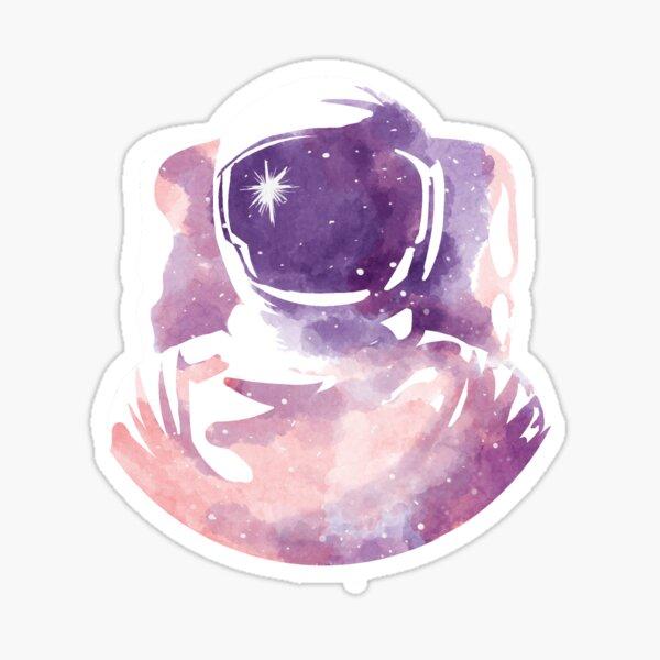 A lost spaceman Sticker