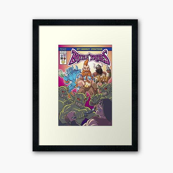 Battle Tribes - The New Tribes! Framed Art Print