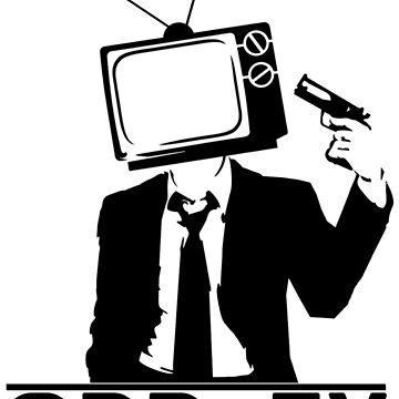 ODD Gunman Black Logo by ODDTV