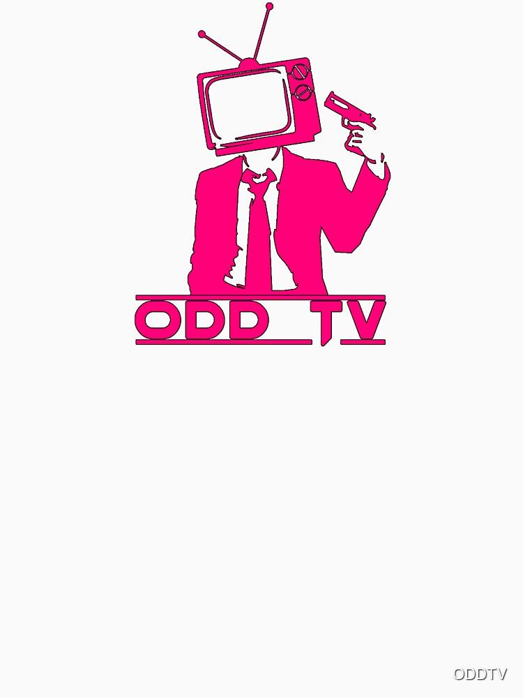 ODD Gunman Pink Logo by ODDTV