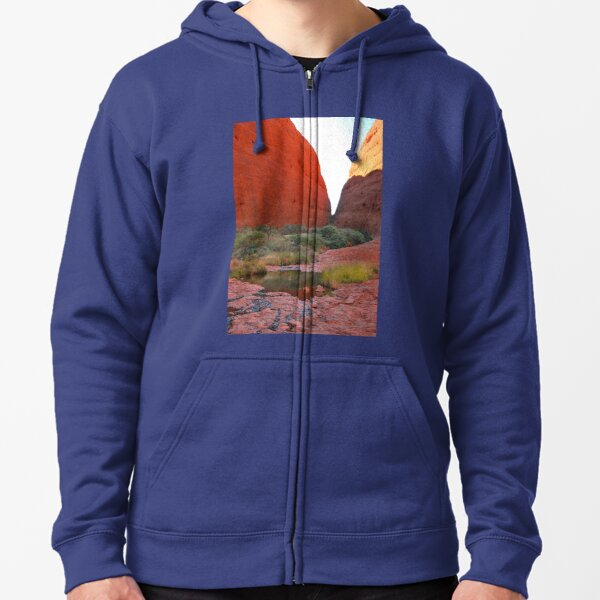 The Valley of the Winds Zipped Hoodie