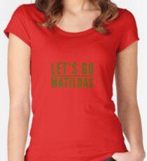 Matildas Women's Fitted Scoop T-Shirt