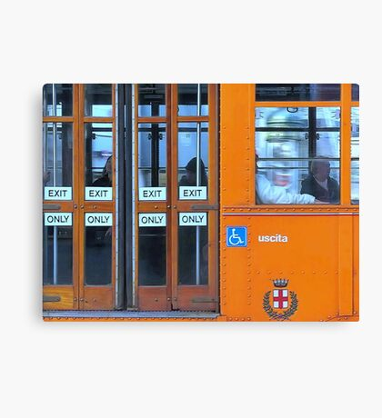 Transportation Canvas Print