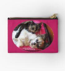 Batzilla - Princess Scarlett and Daisy the Bat Dog  Studio Pouch